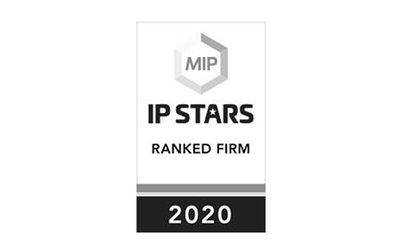 IP Stars - Ranked Firm - 2020