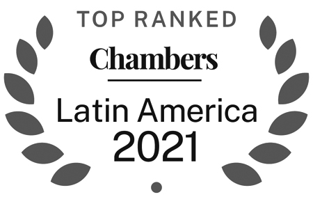 Ranked in Chambers - Latin America - 2020